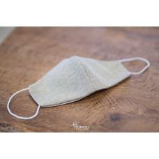 Mascherina Lavabile in tessuto con lurex