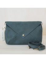 3Chic Holly pochette in pelle spider - col. verdone