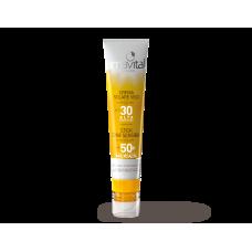 Amavital sun passion crema viso spf30 + stick zone sensibili spf50