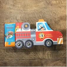 Crocodile Creek - Camion dei pompieri puzzle interattivo