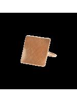 Dansk Smykkekunst anello oro rosa