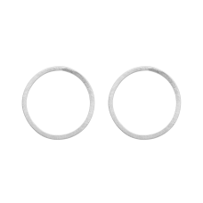 Dansk Smykkekunst orecchini argento