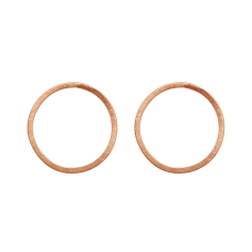 Dansk Smykkekunst orecchini oro rosa