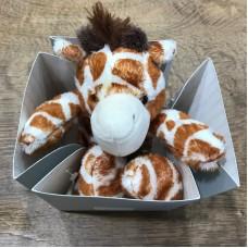 Histoire d'Ours peluche giraffa piccola