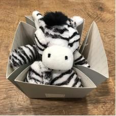 Histoire d'Ours peluche zebra piccola