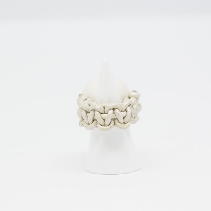 Jamais Sans Toi Gioielleria Contemporanea Costellazione anello in ceramica