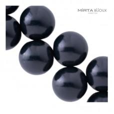 Mirta Bijoux Balls collana - nero opaco
