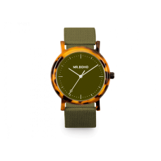 Mr. Boho Orologio Acetate Khaki 40mm