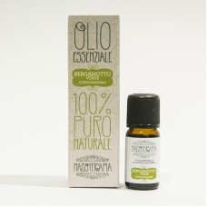 Nasoterapia olio essenziale Bergamotto Verde 100% puro e naturale 10ml