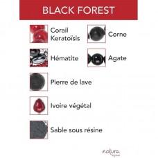 Nature Bijoux Black Forest orecchini