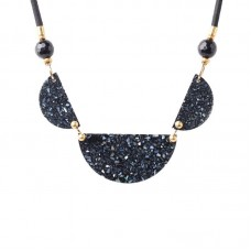 Nature Bijoux Black Light collana