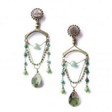 Nature Bijoux Emerald orecchini