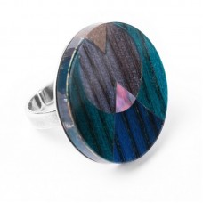 Nature Bijoux Khatam Silver anello