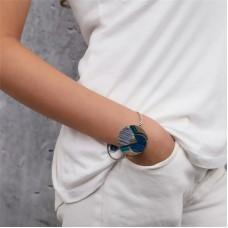 Nature Bijoux Khatam Silver bracciale