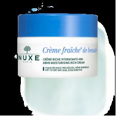 Nuxe Crème fraîche de beauté crema idratante 50ml - pelli secche