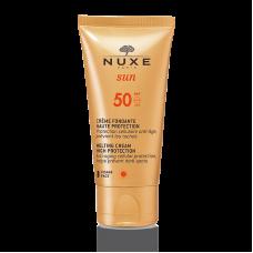 Nuxe Sun crema viso solare anti-età SPF 50 50ml