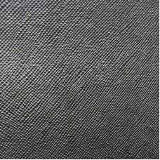 Pochette in pelle lavorata Made in Italy - col. nero