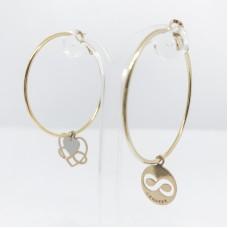 Principessa Glam Gilda Iconic orecchini (cuore+forever)