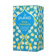 Pukka three chamomile tisana ai tre tipi di camomilla 20 filtri