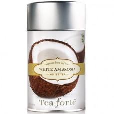 Tea forté white ambrosia - tè bianco cocco e vaniglia