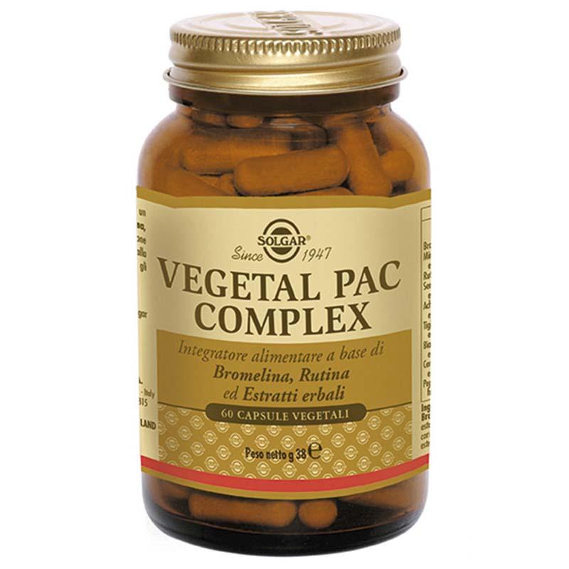 Solgar Vegetal Pac Complex 60 capsule vegetali
